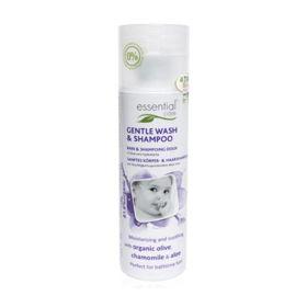 Slika Essential care blago tekoče milo in šampon za dojenčke, 200 mL