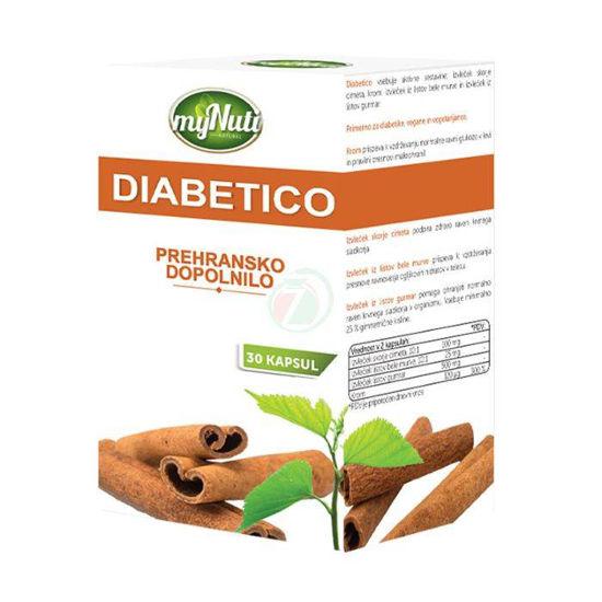 MyNuti Diabetico, 30 kapsul