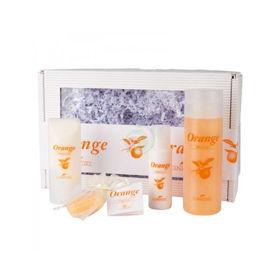 Slika La Nature orange darilni set