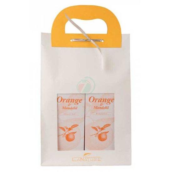 La Nature orange darilni set 1