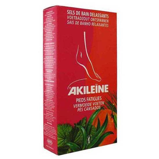 Akileine rdeča linija solna kopel za noge, 2x150 g