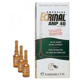 Slika Ecrinal ampule proti izpadanju las, 5x8 ampul