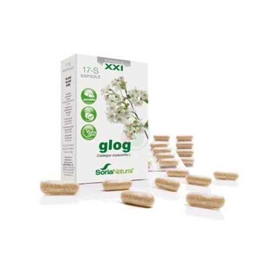 Soria Natural Glog XXL kapsule s podaljšanim sproščanjem, 30 kapsul