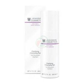 Slika Janssen Cosmetics Clarifying Cleansing gel za čiščenje mastne kože, 200 mL