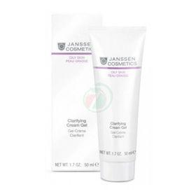 Slika Janssen Cosmetics Clarifying Cream tekoča gel krema za mastno kožo, 50 mL