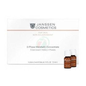 Slika Janssen Cosmetics Melafadin dvo-fazni posvetljevalec, 6 x 7,5 mL