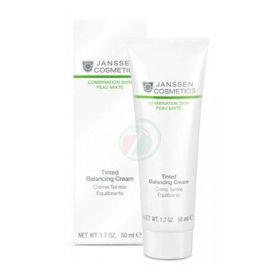 Slika Janssen Cosmetics Tinted Balancing obarvana krema za mastno kožo, 50 mL