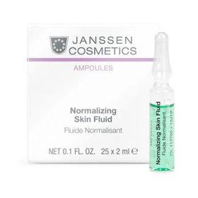 Slika Janssen Cosmetics Normalizing skin fluid ampule za mastno kožo, 25x2 mL