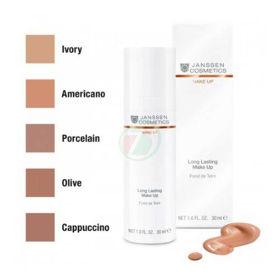 Slika Janssen Cosmetics Long Lasting obstojni tekoči puder - odtenek oliva, 30 mL