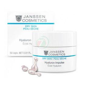 Slika Janssen Cosmetics Hyaluron Impulse kapsule za nego suhe kože, 50 kapsul