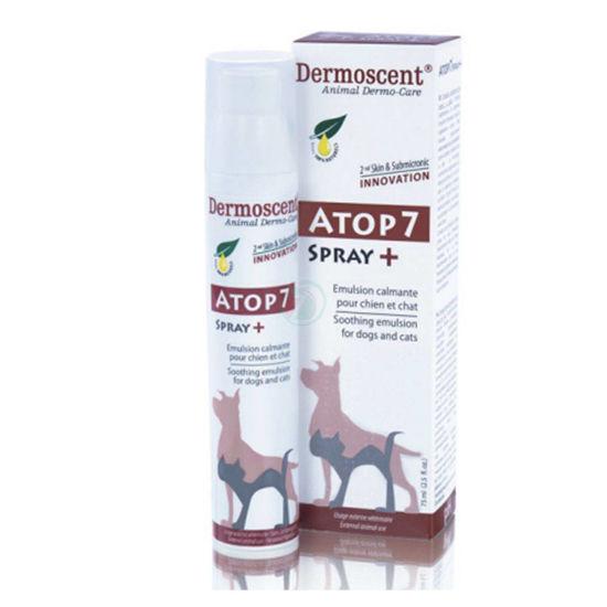 Dermoscent Atop 7 blažilna emulzija za pse in mačke, 75 mL