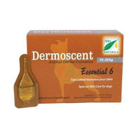 Slika Dermoscent Essential 6 Spot-on kožni nanos za pse od 10-20 kg, 4 pipete