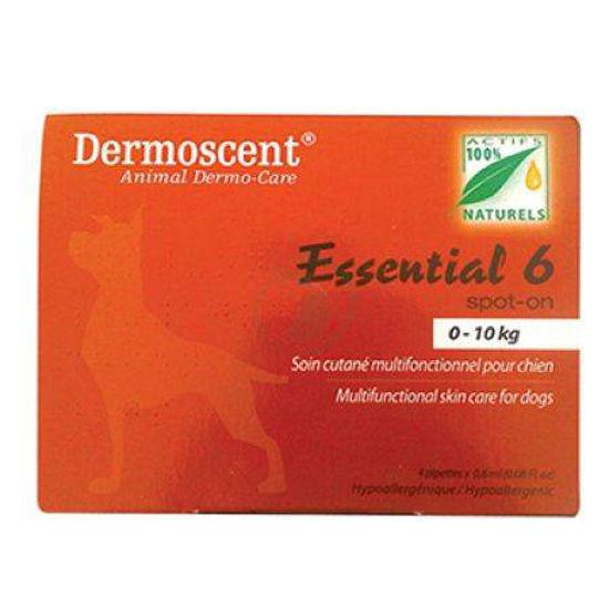 Dermoscent Essential 6 Spot-on kožni nanos za pse od 0-10 kg, 4 pipete