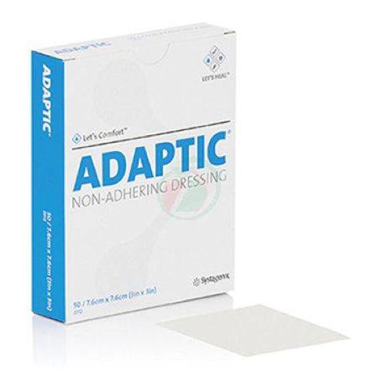 Adaptic NHW nelepljiva kontaktna mrežica 7,6 x 7,6 cm, 50 kom.