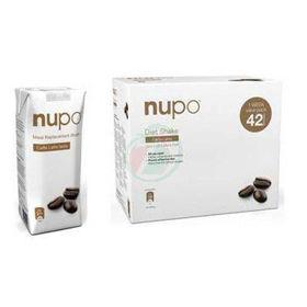 Slika Nupo klasični shake z okusom Caffe Latte - bela kava, 1344 g + GRATIS shujševalni izdelek z okusom bele kave, 330 mL