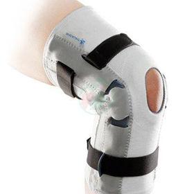 Slika Ligaflex bela ortoza za kolenske vezi s stranskimi gibljivimi oporami