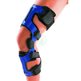 Slika Genu Pro Control Classic dvoosna toga opora za koleno - leva noga