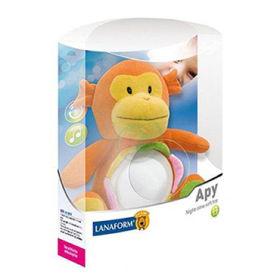 Slika Lanaform Apy Plišasta igrača z nočno lučko in funkcijo nežne uspavanke