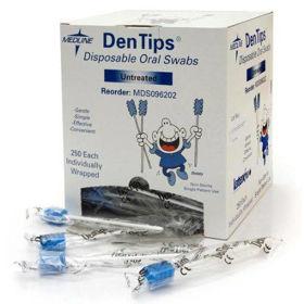 Slika DenTips gobice za ustno higieno, 250 gobic