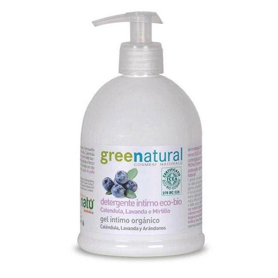 GreenNatural naravno tekoče intimno milo, 500 mL