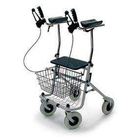 Slika 4- kolesni sprehajalnik (rolator) ARTHRITIS z oporo za roke