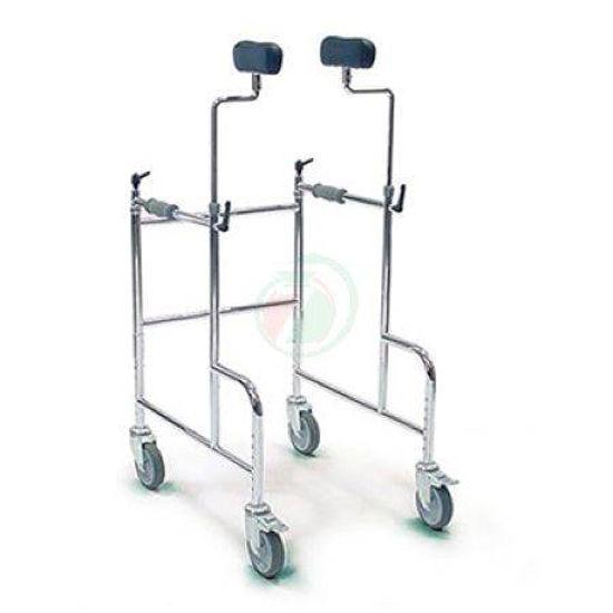 4- kolesni sprehajalnik GMA z oblazinjenima podpornikoma za rame