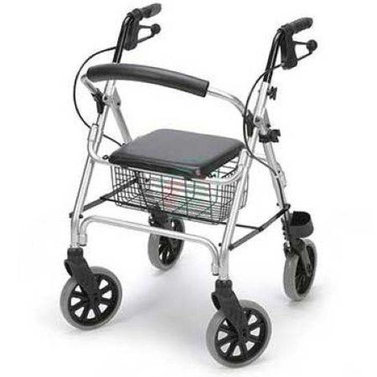 4- kolesni sprehajalnik LIGERO, lahek - 7 kg; sedež višine 51 cm