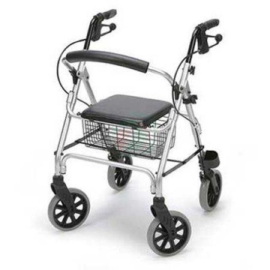 4- kolesni sprehajalnik LIGERO, lahek - 7 kg; sedež višine 56 cm