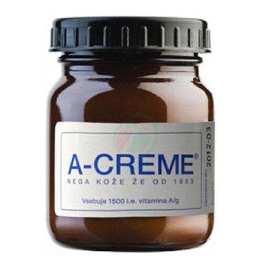 A-Creme Original neodišavljena vitaminska vlažilna krema, 120 g