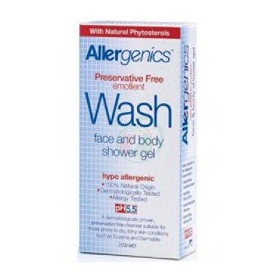 Allergenics pomirjevalni čistilni gel za obraz in telo