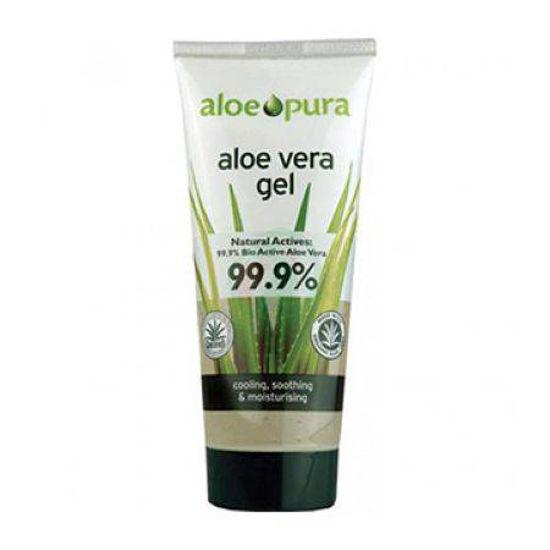 AloePura aloe vera gel s čajevcem, 200 mL