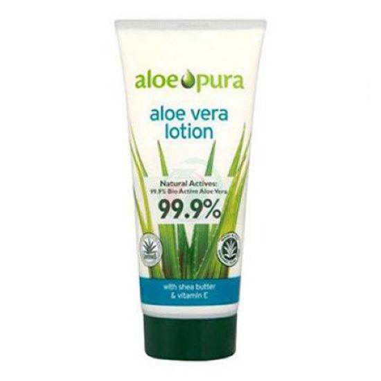 AloePura aloe vera 99,9% losjon za kožo, 200 mL