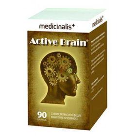 Slika Active Brain za aktivne možgane, 90 kapsul