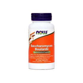 Slika Now Saccharomyces boulardii, 60 kapsul