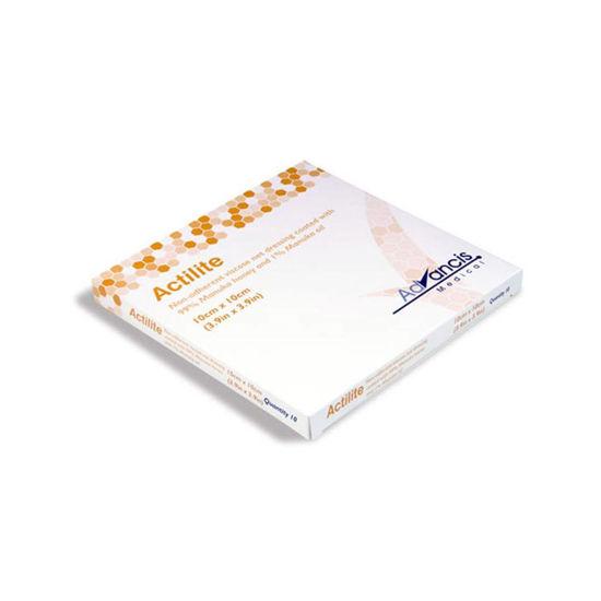Actilite nelepljiva viskozna mrežica 10x10 cm, 10 mrežic