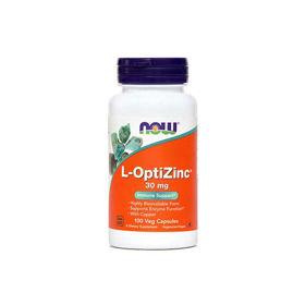 Slika Now Cink (L-OptiZinc) 30 mg kapsule, 100 kapsul