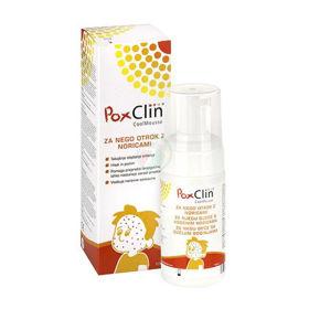 Slika PoxClin hladilna pena – za nego otrok z noricami, 100 mL
