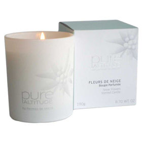 Slika Pure Altitude dišeča sveča snežno cvetje, 190 g