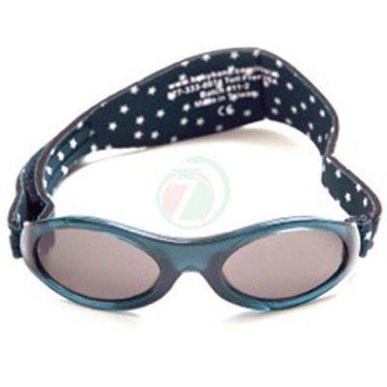 Baby Banz Adventure Navy Star črna otroška sončna očala od 2 do 5 let
