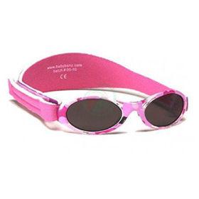 Slika Baby Banz Adventure camo roza otroška sončna očala do 2 let