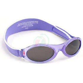 Slika Baby Banz Adventure lila rožice otroška sončna očala do 2 let