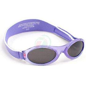 Slika Baby Banz Adventure lila rožice otroška sončna očala od 2 do 5 let