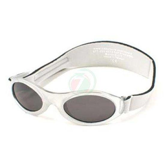 Baby Banz Adventure srebrna otroška sončna očala od 2 do 5 let