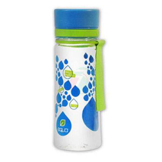 Equa ekološka steklenica z odtenkom/motivom flamingo, 0,6 L