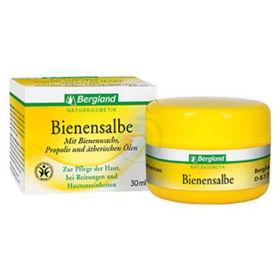 Slika Bergland mazilo s čebeljim voskom in karite maslom, 30 mL