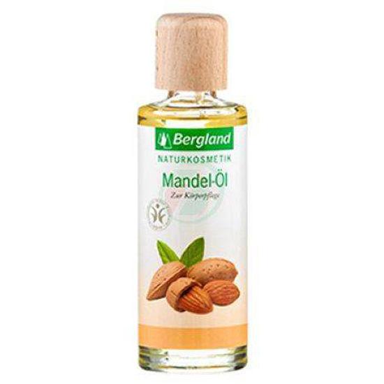 Bergland 100% naravno mandljevo olje, 125 ali 250 mL