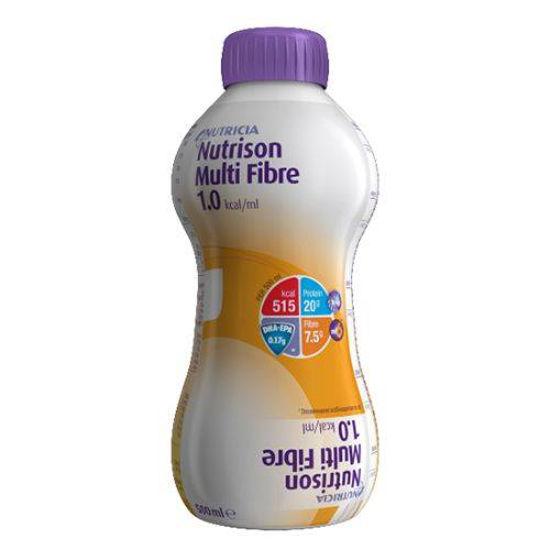 Nutrison Multi Fibre enteralna prehrana z vlakninami, 8 x 1000 mL