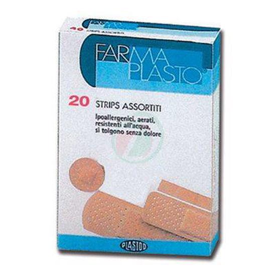 Farmaplasto obliži z odtenkom kožne barve, 20 kom.
