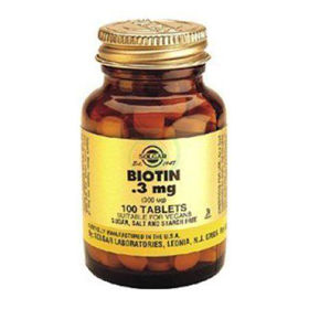 Slika Solgar Biotin, 100 tablet