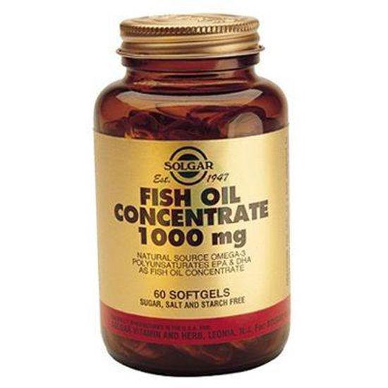 Solgar Koncentrat ribjega olja, 60 mehkih želatinoznih kapsul